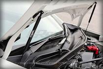 GReddy Carbon Hood Damper Kit - FR-S / BRZ