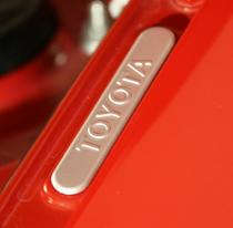 Euro Toyota Fender Badge