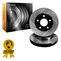 R1 Concepts Premier Series Brake Rotors - Rear