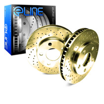 R1 Concepts E Line  Brake Rotors - Front (Gold)