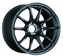 SSR GTX01 18X9.5 +40 Flat Black Wheel
