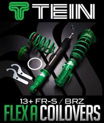 TEIN FLEX-A COILOVER KIT: SCION FR-S & SUBARU BRZ 2013-16 - VSTD8-D1SS4