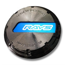 RAYS Gram Lights 57CR / 57DR GL Center Cap (Black/Blue)
