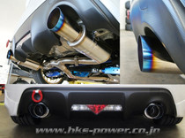 HKS HI-Power Spec L Catback Lightweight Exhaust - 2013+ FR-S / BRZ