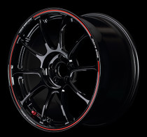 Volk ZE40 Time Attack Edition 18x9.5 +42 5x100 Black/Red (Face 2) (1 PC)