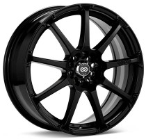 Enkei EDR9 18x7.5 5x100/114.3 +45 Black Wheel (1 PC)
