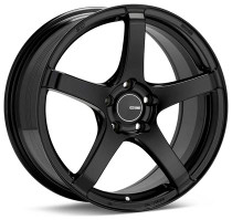 Enkei Kojin 18x9.5 5x100 +45 Matte Black Wheel