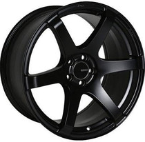 Enkei T6S 18x9.5 5x100 +45 Matte Black Wheel