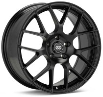 Enkei Raijin 18x8.5 5x100 +45 Black Wheel