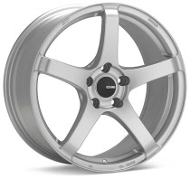Enkei Kojin 18x9.5 +45 5x100 Matte Silver Wheel (1 PC)