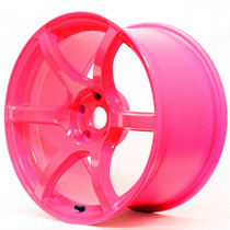 Gram Lights 57C6 18x9.5 5x100 +40 Luminous Pink Wheel