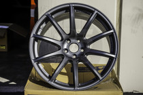 Gram Lights 57Transcend 18x9.5 5x100 +39 Matte Graphite Wheel
