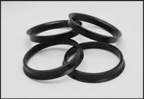 Black Plastic Hub Centric Rings FRS/BRZ/86 (2 PC)