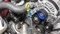 Cusco Billet Aluminum Engine Oil Dip Stick Holder - FRS/BRZ/86