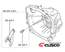 Cusco Clutch Release Fork & Pivot Set - FRS/BRZ/86