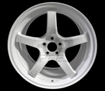 Gram Lights 57CR Ceramic White Pearl 18X9.5 +38 5x100 (1 PC)