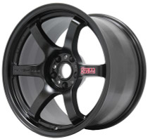 Gram Lights 57DR 18x8.5 5x100 +38 Semi-Gloss Black Wheel