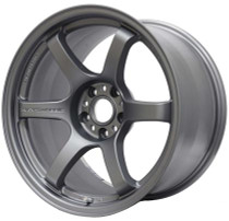 Gram Lights 57DR 18x9.5 +38 5x100 Gun Blue Wheels (Single)