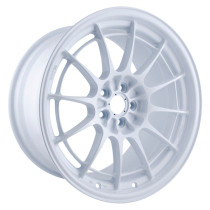 Enkei NT03+M 18x9.5 5x100 40mm Offset Vanquish White Wheel (Single)