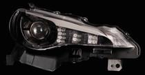 Valenti GT86 Head Lamps  - RHD - Black