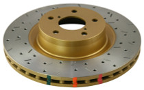 DBA T3 Drilled & Slotted 4000XS Series Rotor (Rear)