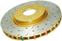 DBA Drilled & Slotted 4000XS Series Rotor (Front / Performance Package)