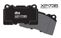 DBA - XP+735 Circuit Performance  Brake Pads (FRONT) FRS/BRZ/86 Vented Rear Disc