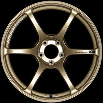 Advan Racing RGIII 18x9.5 5x100 +45 Racing Gold Metallic Wheel