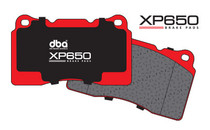 DBA - XP650 Track / Heavy load Performance Brake Pads (REAR) FRS/BRZ/86 Vented Rear Disc