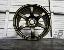 Gram Lights 57DR 18x9.5 +38 5x100 MATTE BRONZE (Single)