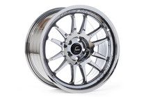 Cosmis Racing XT-206R 18x9 5x100 +33 Black Chrome Wheel