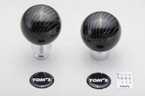 TOM'S Racing carbon shift knob MT FRS/BRZ/86