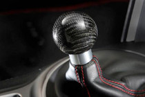 TOM'S Racing carbon shift knob AT FRS/BRZ/86