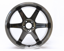 Volk Racing TE37 SL Super Lap Wheel 18x9.5 +40 Pressed Double Black