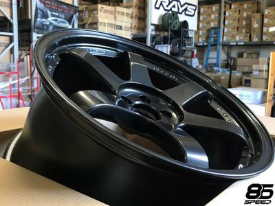 Volk Racing - TE37SL 18X9.5 +40 5-100 DIAMOND BLACK