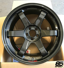 Volk Racing - TE37SL 18X9.5 +40 5-100 DIAMOND BLACK