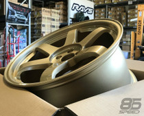 Volk Racing TE37SL 18X9.5 +40 5x100 Gold Wheel