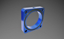 Torque Solution Blue Throttle Body Spacer 2013+ FRS/BRZ/FT86