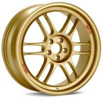 Enkei RPF1 18x8 5x100 45mm Offset 56mm Bore Gold Wheel 02-10 WRX & 04 STI