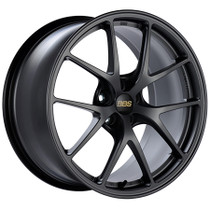 BBS RIA 18x8.5 5x100 43mm Matte Graphite Wheel