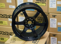 Rays Gram Lights 57DR 18x9.5 +38 Winning Blue Wheel