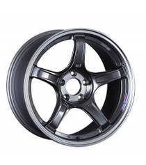 SSR GTX03 Black Graphite 18x9.5 +38 (4pc) (XC18950+3805CGM)