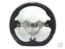 TOM'S Racing Carbon & Black Leather Steering Wheel 2017 Toyota 86