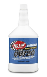 Red Line 0w-20 Synthetic Motor Oil 1qt (RL-11804)