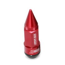 Project Kics Leggdura RD78 M12x1.25 Red Racing Dangan Shell-Type Lug Nuts