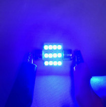 Blue LED Dome Light Bulbs (FT86-LED-DOME-B)