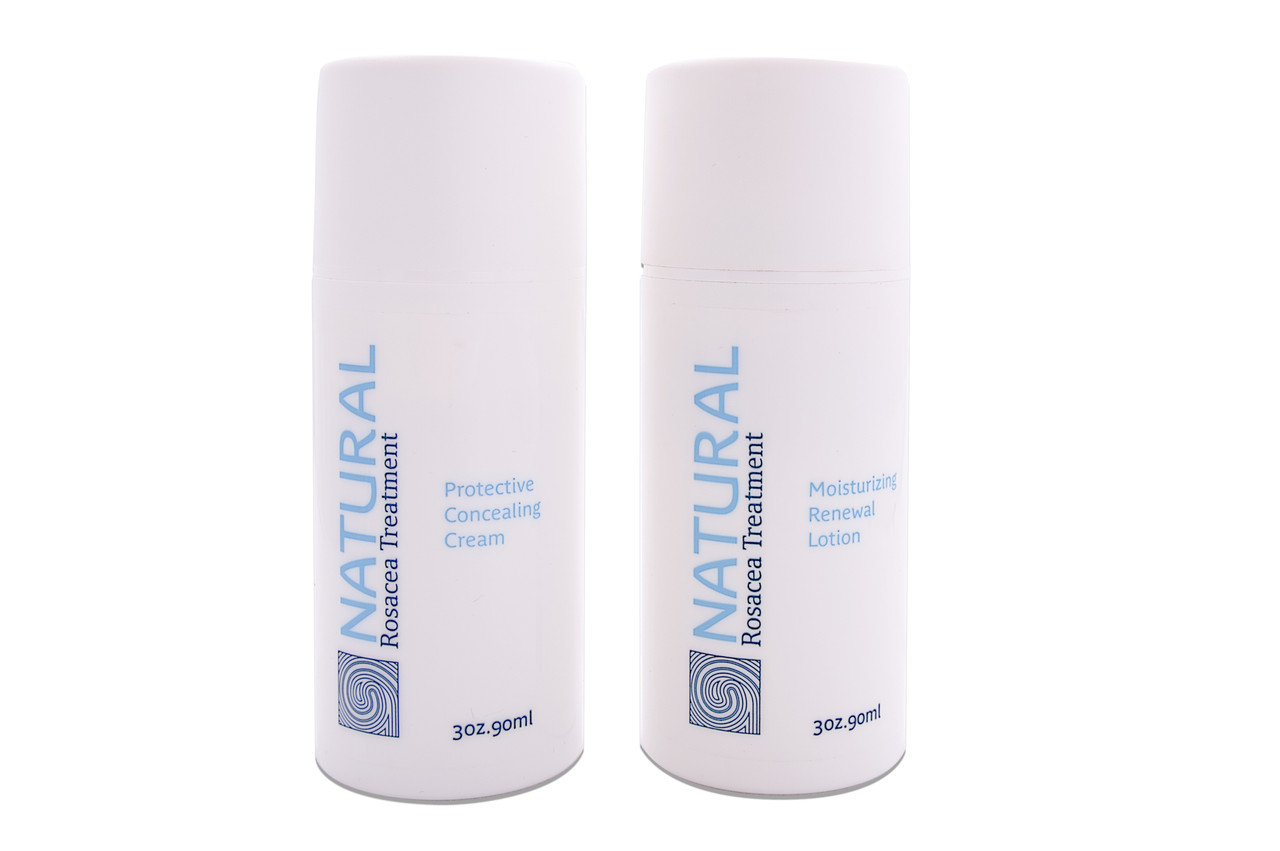 Complete Natural Rosacea Treatment System 1 Month Supply