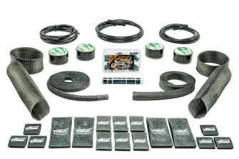 Hotrod Kit Black Carbon Fiber/Kevlar  Includes Upper/Lower Skins & Boa Clamps