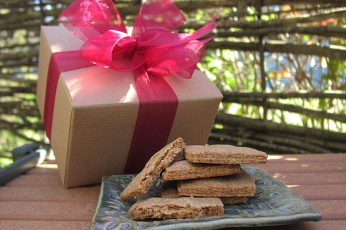 This small box of Gourmet Shortbread cookies is big on flavor.