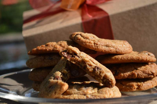 A large gift box of gourmet cookies - enough to share with clients, friends and associates - or not!
